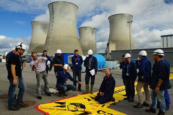 EDF-Schulung zum Hochwasserschutz