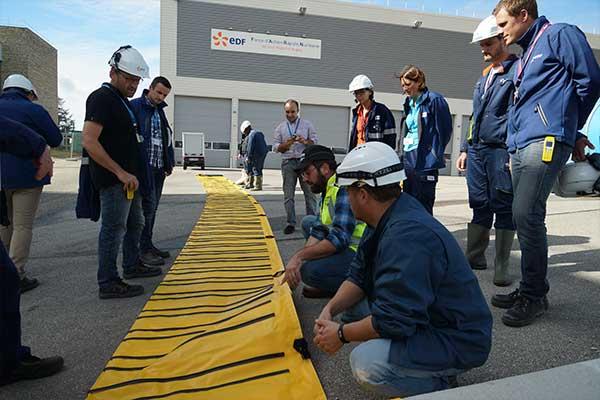 EDF Hochwasserschutzschulung