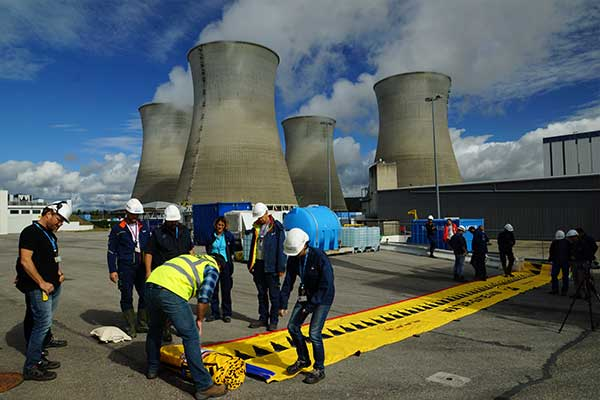 Kernkraftwerk Hochwasserschutz