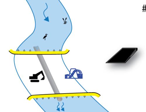 # 2 | Entwässerung zwischen 2 Kofferdämmen