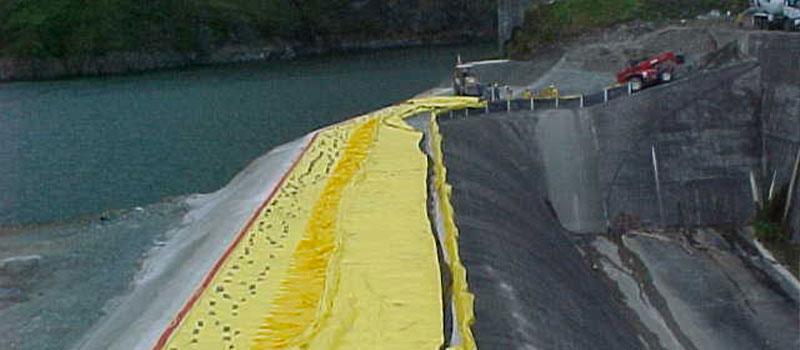 Fortuna Dam | Panama | Erhöhung der Überlaufrinne eines Wasserkraftwerks.